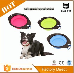 2015 personalized silicone travel dog bowl collapsible dog bowl