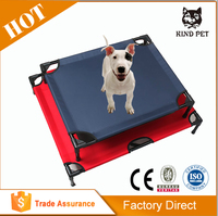 elevated cooling pet bed