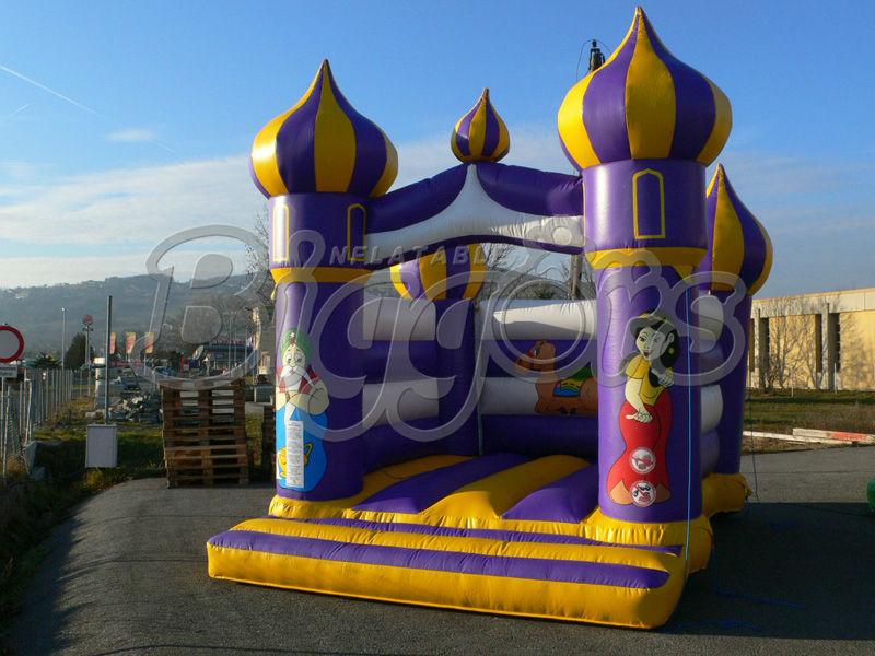la lámpara de aladino casa de brinco inflables gorila jumper para diversión los niños