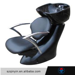 Factory made Fiberglass base Black shampoo chair parts salon