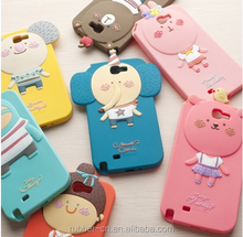2015 new products silicone stand case for iphone