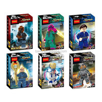 Decool 0223-0228 Baron Strucker/Nick Fury/Agent Maria Hill/Ultimate Ultron/Iron Legionaire building block Compatible With Lego