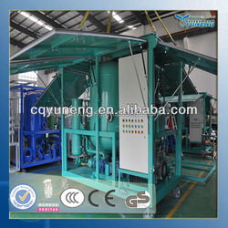 Vacuum Double-Stage Transformer Oil Purification System, Used Dielectric Oil Purifier, or Insulating Oil Dehydration Machine