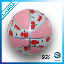 "stock a lot 5"" mini custom made rubber basketball"