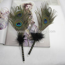 Peacock feather pen, new gift pen,promotional pen