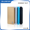 Plastic 10000mAh multi color Cell Phone Backup Battery Power Bank Case with Thinest Design
