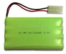 ni-mh battery 9.6v 600mah