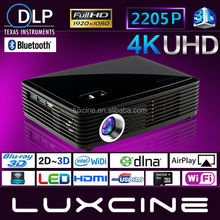 Buseiness & Education, Home Use Mini Smart Blu-ray 2205P Ultra HD 3D Projectors / Smart 3D Projector
