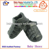 Newborn spring summer leather soft rubber baby shoes 2014