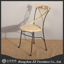 bize tarzı dövme dekoratif döküm yemek sandalyesi