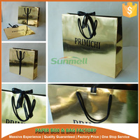 tailored ribbon decoration handmade paper bag design