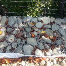 Protect River Bank Galvanized Gabion Mesh for Philippines(factory)