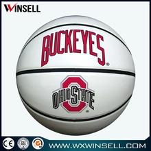classic design personalized pu basketball training balls