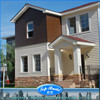Top Build light structural steel H-beam house/villa/homes