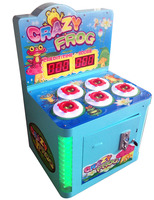 LED Crazy Frog - Coin Operated Children Hitting Hammer Whack A Mole Redemption Power Hit hammer arcade game machine from China