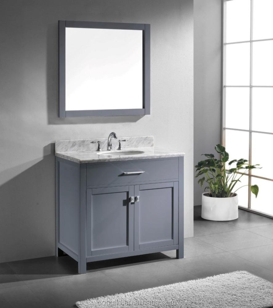 36 Modern Marble Top Wooden Bathroom Vanity Combo Bel014a Buy 36 Bathroom Vanity Modern