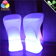 bar chairs/lighted plastic chair/led chairs and tables lighting/led
