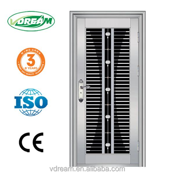 Safety Door Steel Grill Design