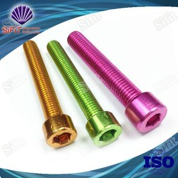 Top Sale! Factory Supply High Quality Anodized Bolts Motorcycle