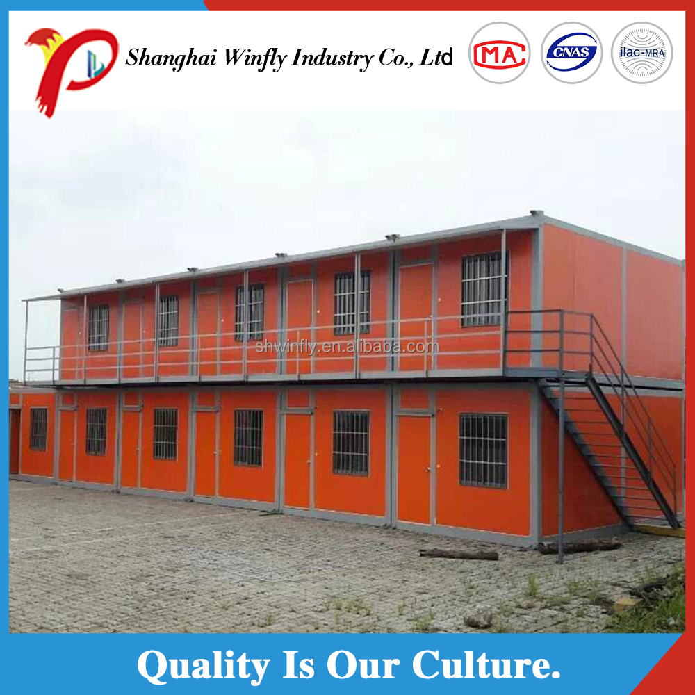 High efficient underground modular container house cost for Prefabricated underground homes