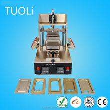 High quality LCD separator + glue remover + oca film laminator + automatic vacuum laminator + autoclave laminator