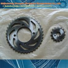 material of chain sprocket/honda unicorn chain and sprocket kits/honda unicorn chain and sprocket kits made in china