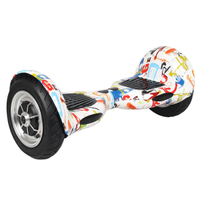 10 inch two wheel self balancing electric scooter 700w 2h charging time