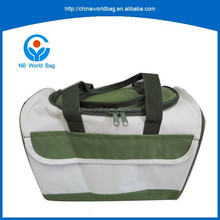 GY sample free available tested durable picnic and drinking shoulder boston bag polyester cooler bag