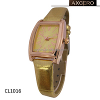 lady fancy thin leather strap accept paypal wrist watches