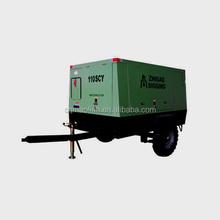 0.8Mpa Portable Diesel Power Screw Air Compressor 110SCY-8