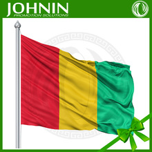 100%polyester cheaper customed top quality African national flags