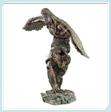Resin design eagle dancer bronze classic statues sculptures