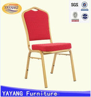 Stackable Iron Hotel Banquet Wholesale Chair YF312