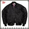 2015 Custom new design bomber jacket men with satin lining