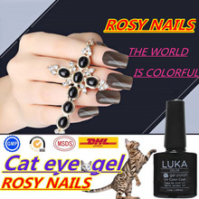 ROSY Nail Polish Fashion Women Cat Eye Cheap Uv/led Color Gel