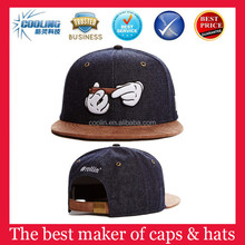 american style 80% acrylic 20% wool snapback from manufacturer