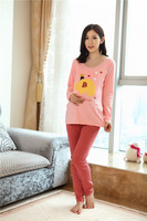 The Fall New Designed Trendy Maternity Loungewear Set in Pink 144608