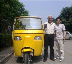 Passenger Three Wheel Motorcycle Covered (USD1,149/unit)