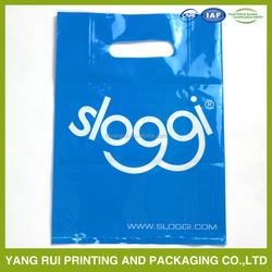 CLEAR PE MATERIAL SHOPPING PLASTIC BAGS T SHIRT BAGS