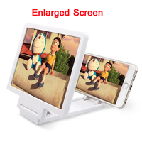Factory Price Mobile Phone 3D Enlarged Screen Magnifying for Samsung S6 Edge Plus Stand Holder