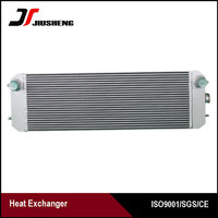 Air Cooled Water Cooler For Hitachi ZAX210-3 Heat Exchanger