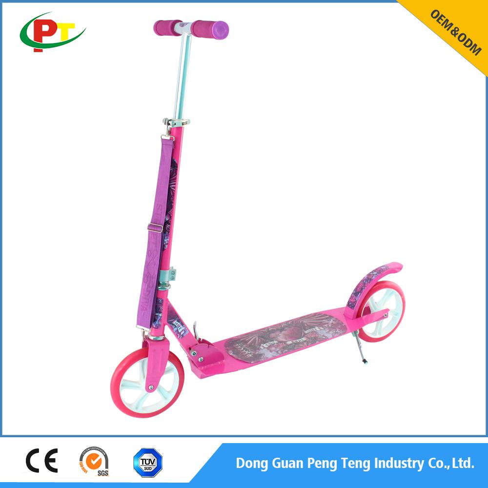 Commercio all'ingrosso PU Ruota 205mm in piedi scooter