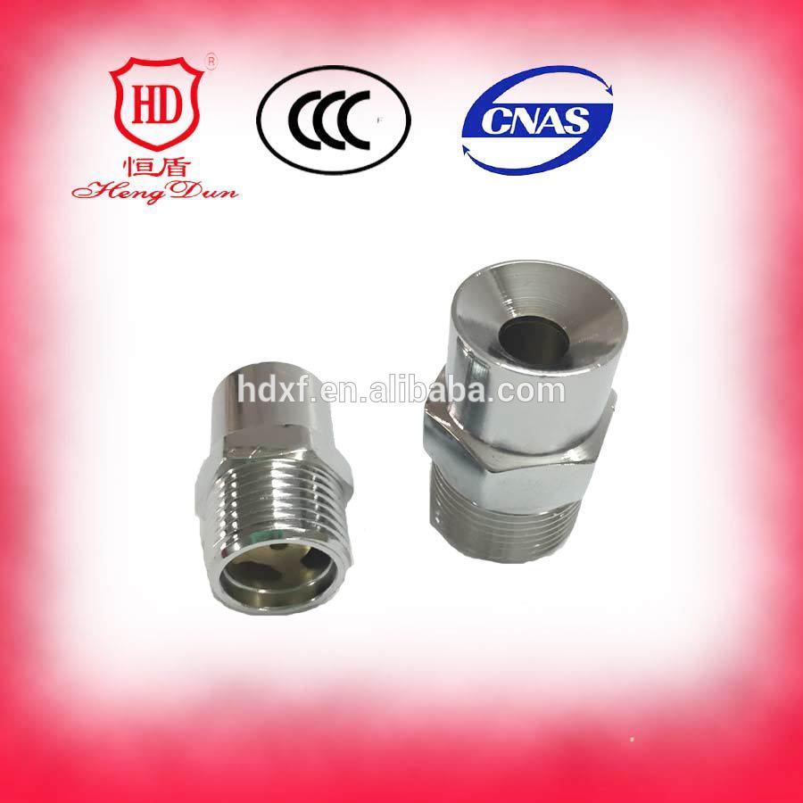 Water spray nozzle stainless steel fire