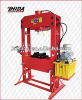 75 Ton Capacity Heavy-Duty Shop Press Electric/Hydraulic Pump Auto Tool