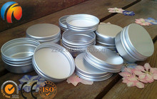 Aluminium Tin Jar pots Containers With Screw Lids Made in China