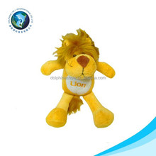 With keychain plush lion teddy bear soft toy