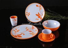 popular products two tone color plastic melamine patio party set