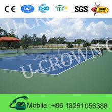 Plastic Tennis Court Flooring for Indoor Sports Surface