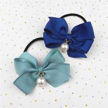 soft 3d rattle elastic hair tie for ladies