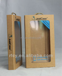 New design kraft paper case for iphone 6 & 6 Plus with printing in Guangzhou